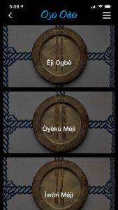 Oju Odu signos