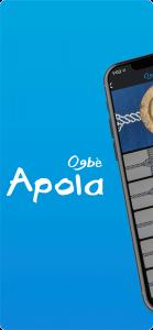 La nueva aplicación con los signos de la Apola de Ogbè