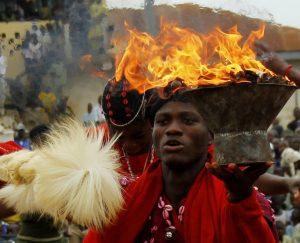 Festival de Shango en Oyo