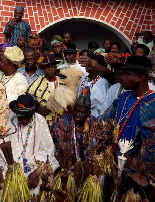 Cultura Yoruba tradicional