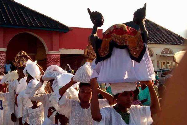 Oke Itase ceremonia de la adivinación mundial de Ifá 2017