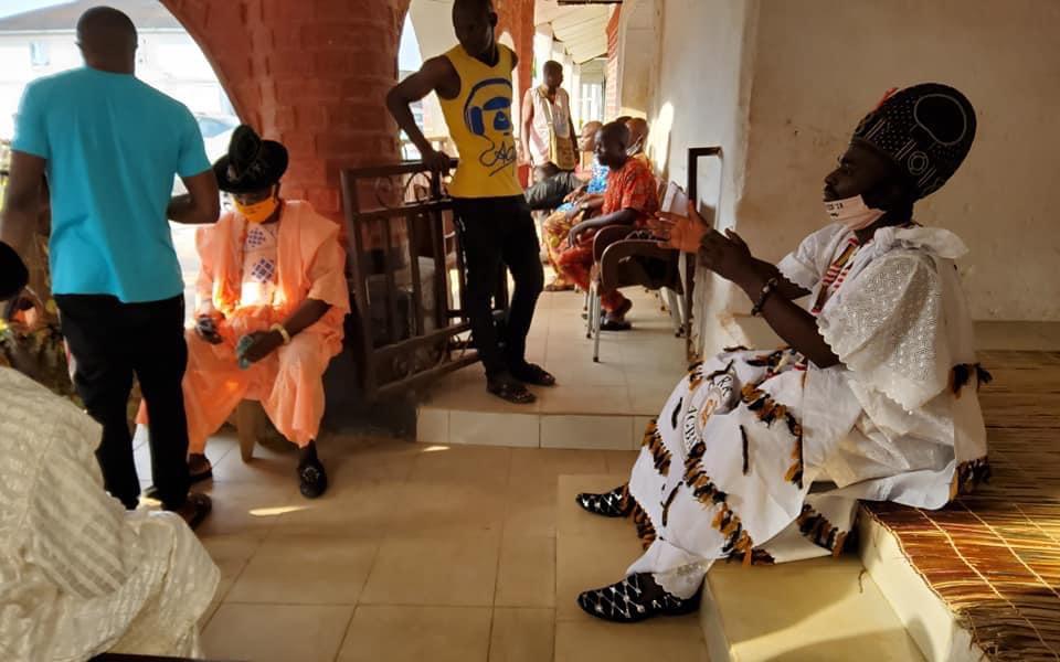 Celebración en Ile Ife del Oke Itase del año 2020