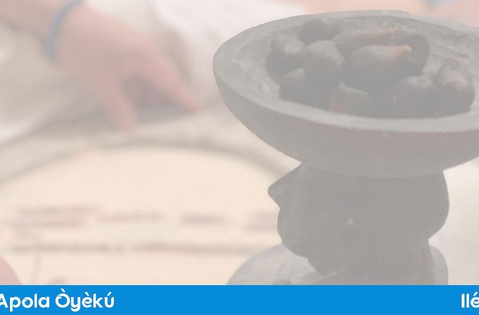 Aplicación Apola Oyeku, con versos de Ifá y audios en yoruba de los 15 signos de Oyeku