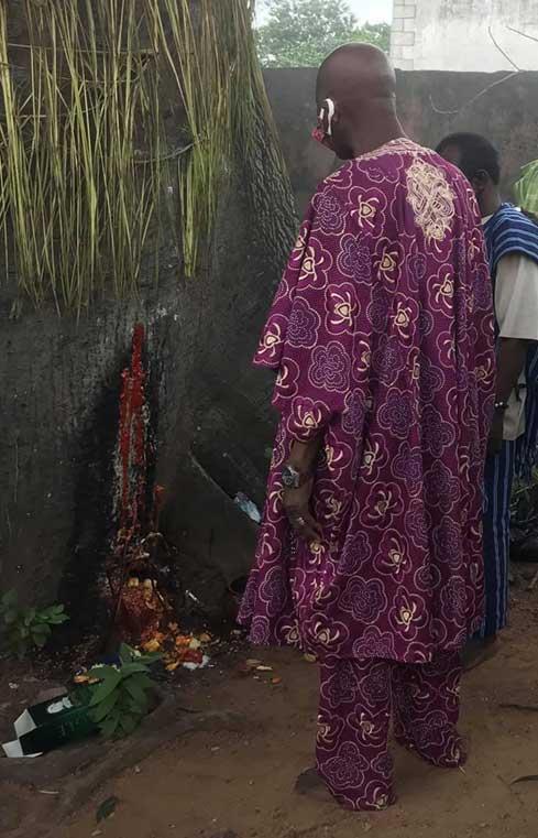 Propiciación Ogun en Nigeria