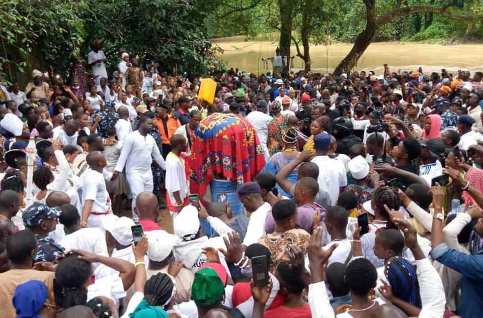 Ofrenda a Osun Osogbo